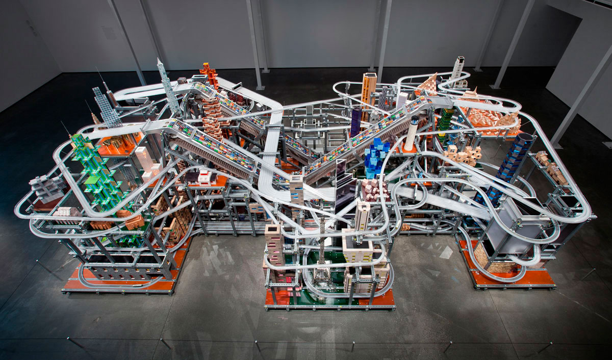 Chris Burden's Metropolis II