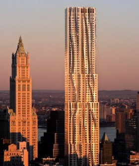 FRANK GEHRY RESIDENTIAL SKYSCRAPER NEW YORK