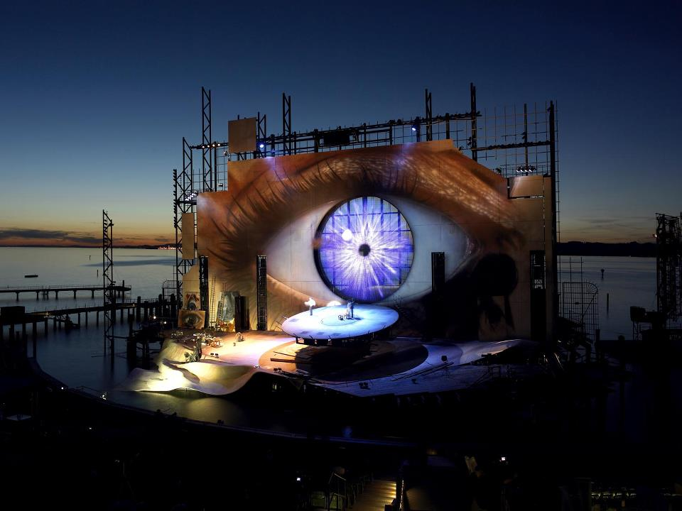 Puccini's Tosca at the Bregenz Festival