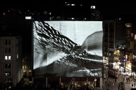 REFIK ANADOL AUGMENTED STRUCTURES V1 ACOUSTIC FORMATIONS ISTIKLAL STREET