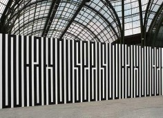 TANIA MOURAUD  TYPOGRAPHY MURAL