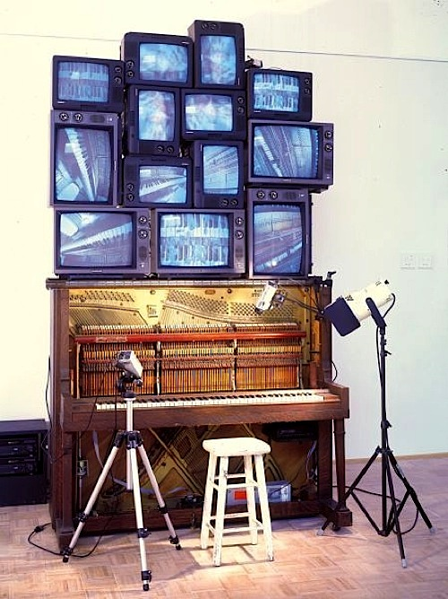 NAM JUNE PAIK  PIANO PIECE