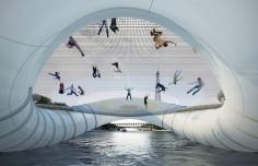 AZC Inflatable Trampoline Bridge