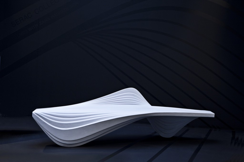 ZAHA HADID ARCHITECTS SERAC BENCH