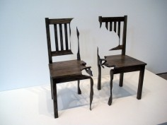 DARREN FOOTE  TWO CHAIRS