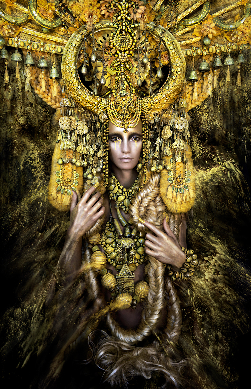 KIRSTY MITCHELL  GAIA THE BIRTH OF AN END