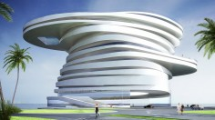 LEESER ARCHITECTURE Helix Hotel