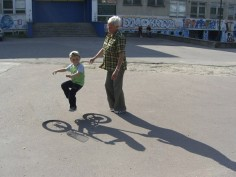 WERONIKA KRZEMIENIECKA CYCLING LESSON