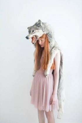 JESSICA SILVERSAGA GIRL WITH WOLF II