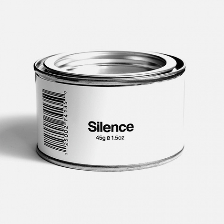 Christian Minnetian  White can with 45 g silence