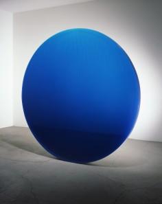 DEWAIN VALENTINE   CIRCLE BLUE