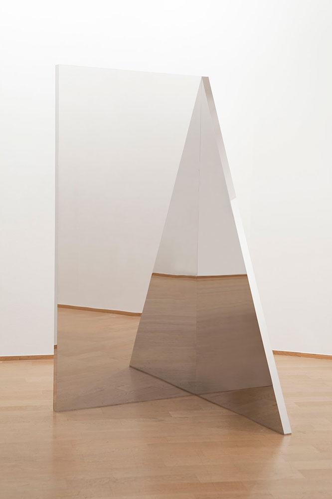 Jeppe Hein  Geometric Mirrors I-III