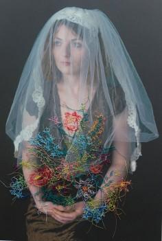 Melissa Zexter   Woman with veil