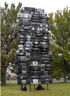 Bayete Ross Smith  boombox tower