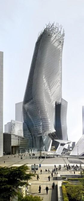 Morphosis  Phare tower