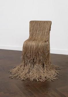 Gunther Uecker  String Chair