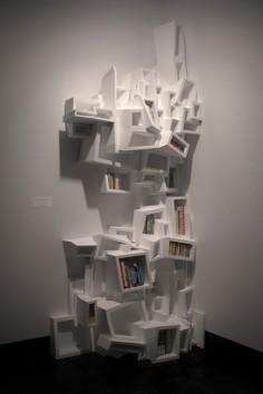 Ulterior Projects   Experimental Bookshelves