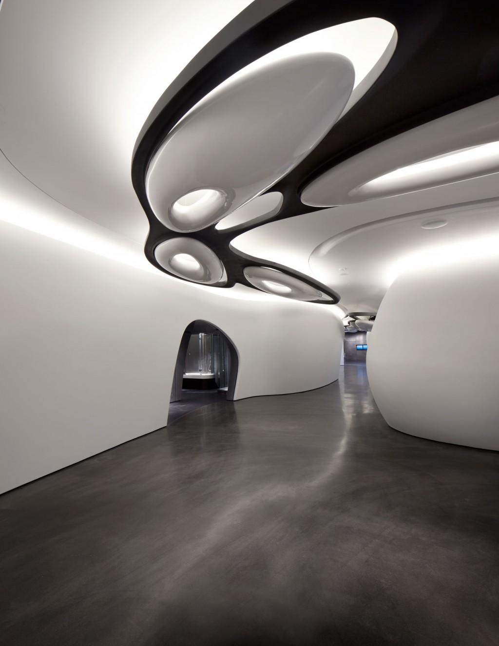 ZAHA HADID ARCHITECTS Roca London Gallery