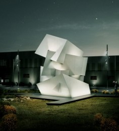 daniel libeskind places beyond the wall