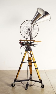 William Kentridge Sculpture bicycle wheel