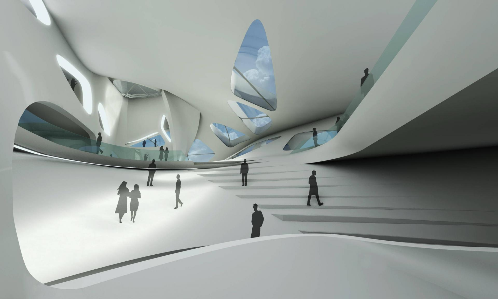 ZAHA HADID ARCHITECTS Nuragic and Contemporary Art Museum