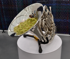 Darren Bader  French Horn with Guacamole