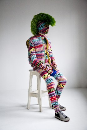 Phyllis Galembo   Knit Monster
