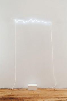 Soledad Arias  White Neon