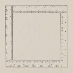Sylvia Plimack Mangold Six Inches Four Ways From The Rubber Stamp Portfolio