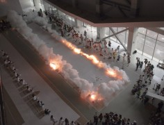 cai guo qiangs  Ignition of  The Bund Without Us