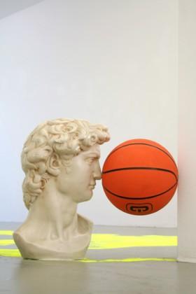 Daniel van Straalen   All Surface, David sculpture