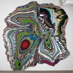 Holton Rower  Pour Paintings