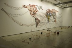 REENA SAINI KALLAT Untitled (Map)