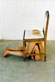 Yael Davids  White Chair