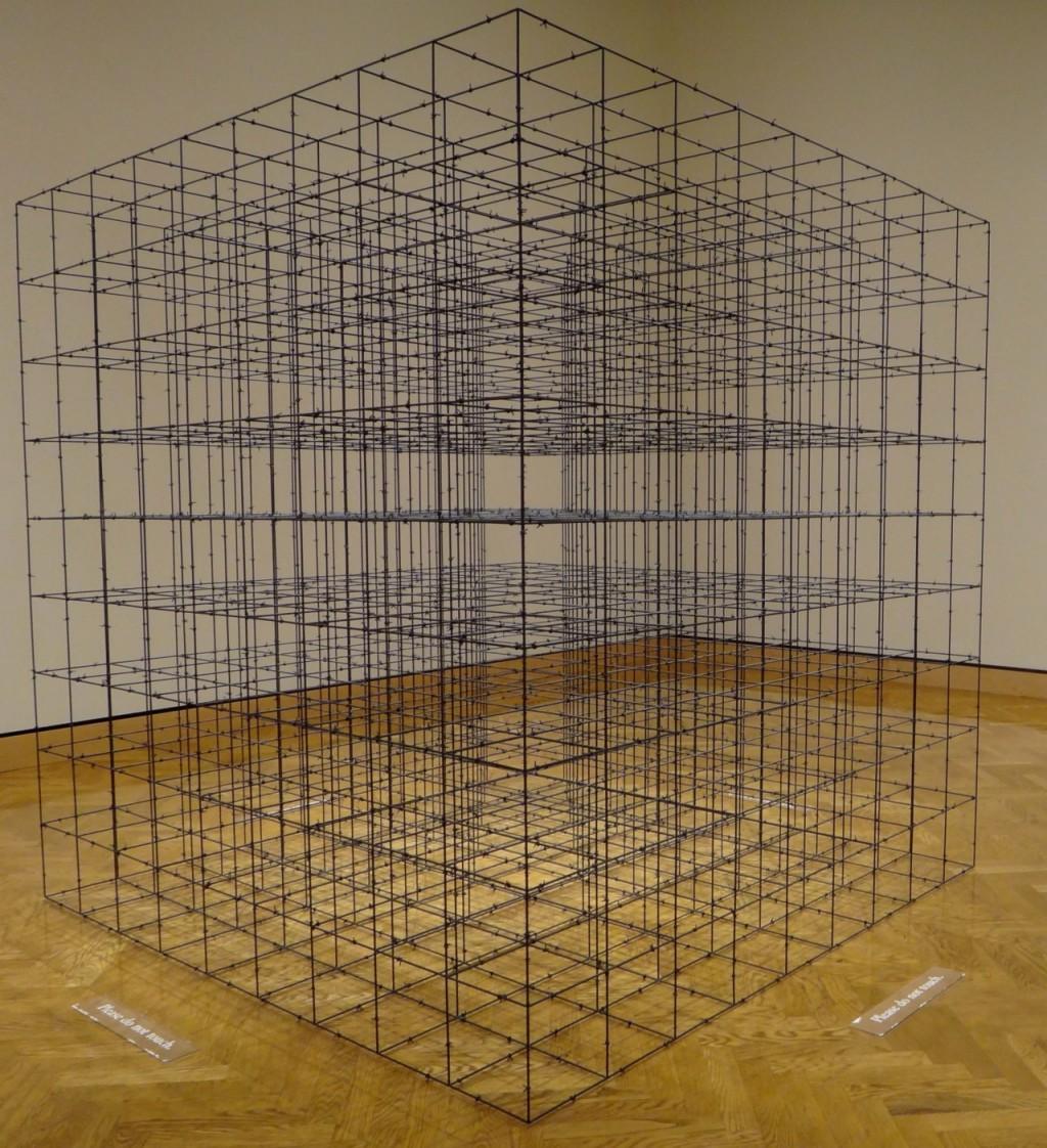 Mona Hatoum  Cube