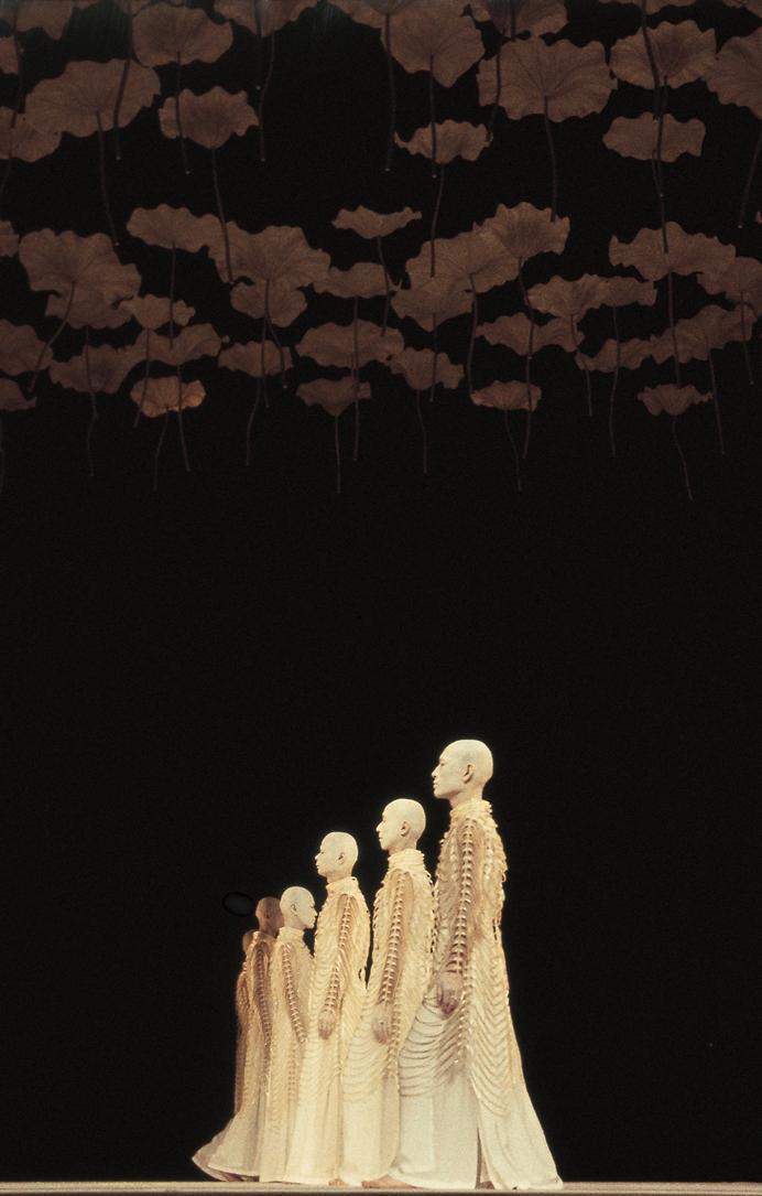 sankai juku   Kagemi  Beyond the Metaphor of Mirrors
