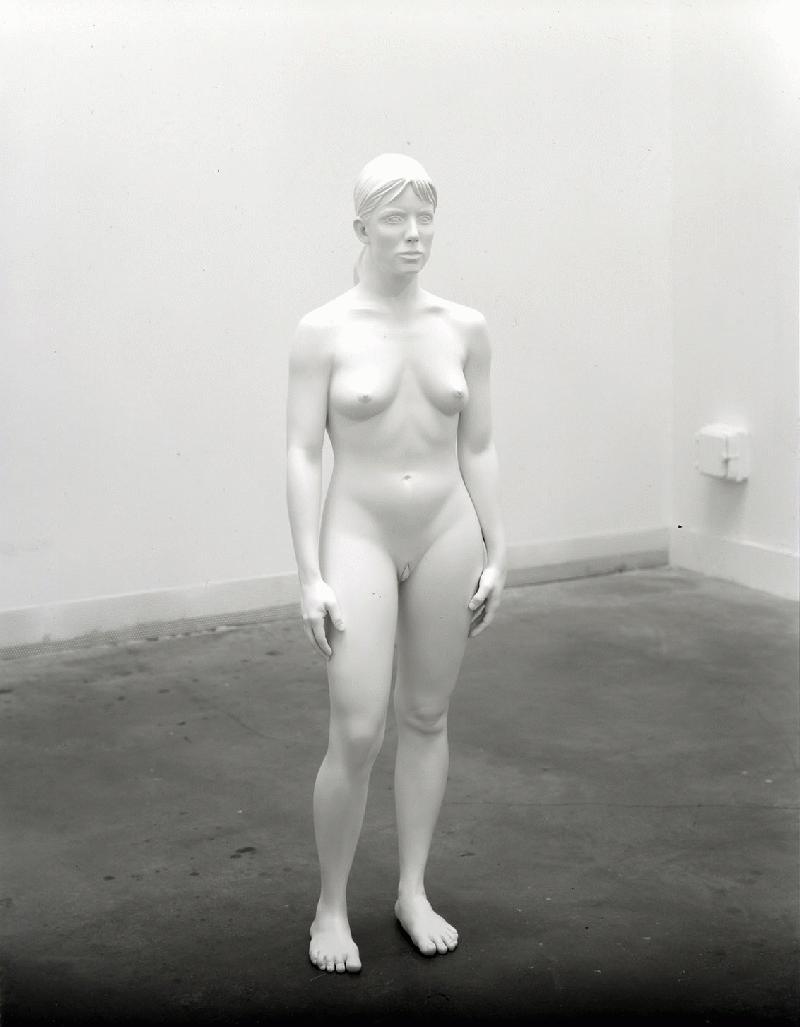 Charles Ray  Aluminum Girl