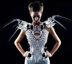 anouk wipprecht spider dress 2.0