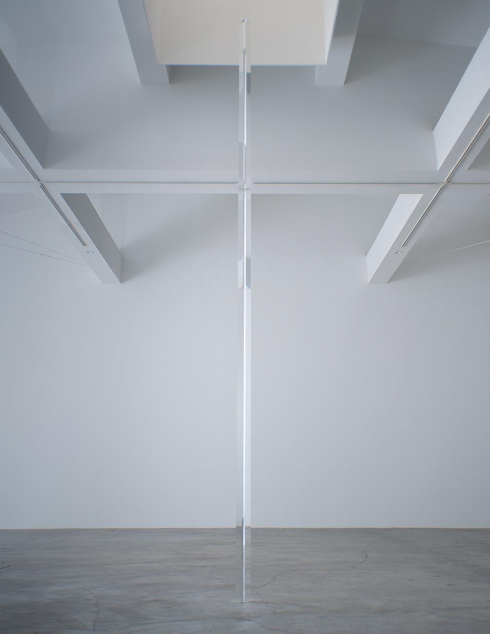 Robert Irwin acrylic column