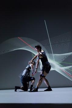 YCAM InterLab + Yoko Ando  Dividual Plays