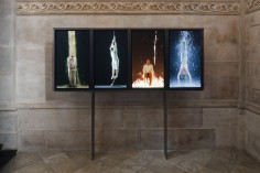 bill viola  Martyrs (Earth, Air, Fire, Water)