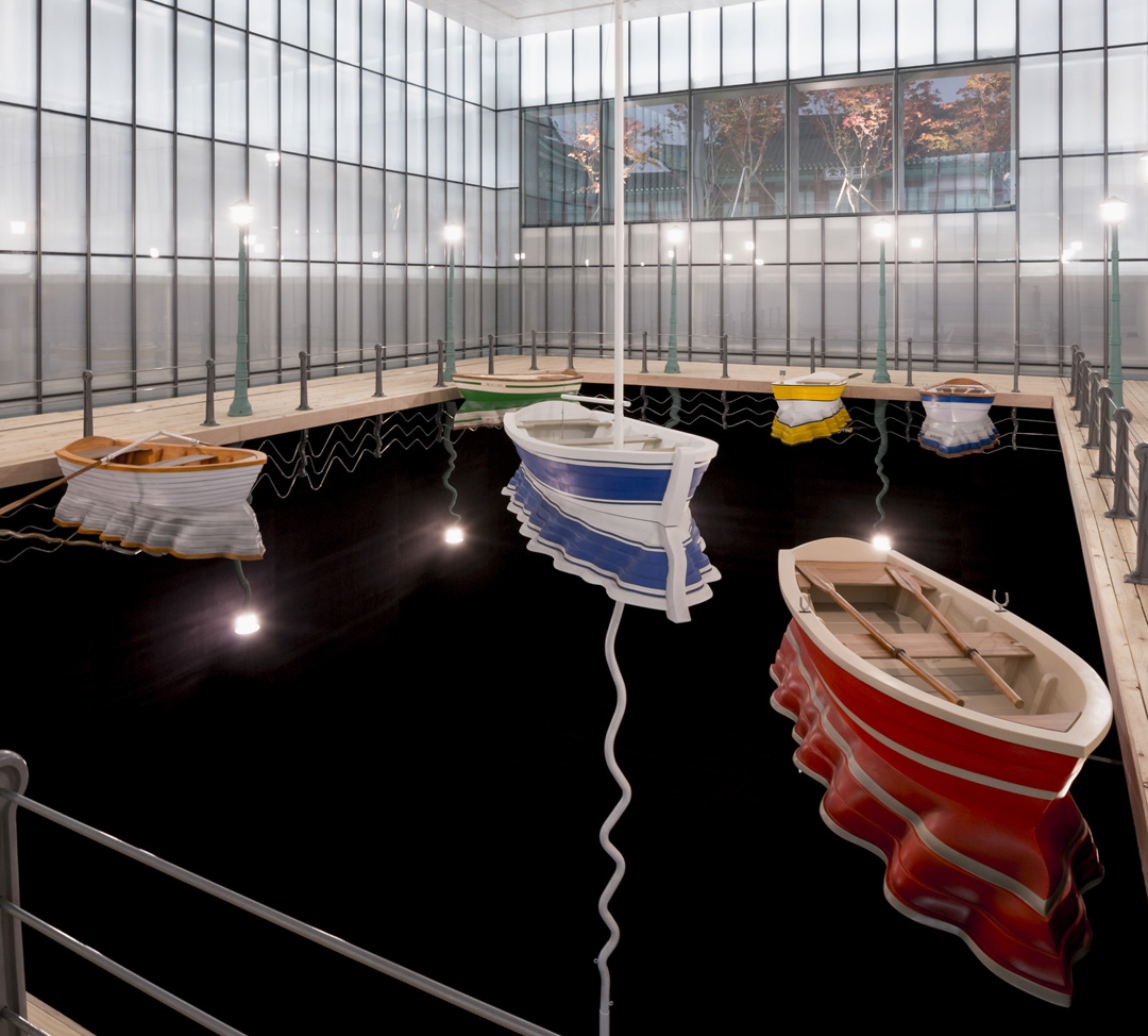 Leandro Erlich  Port of Reflections