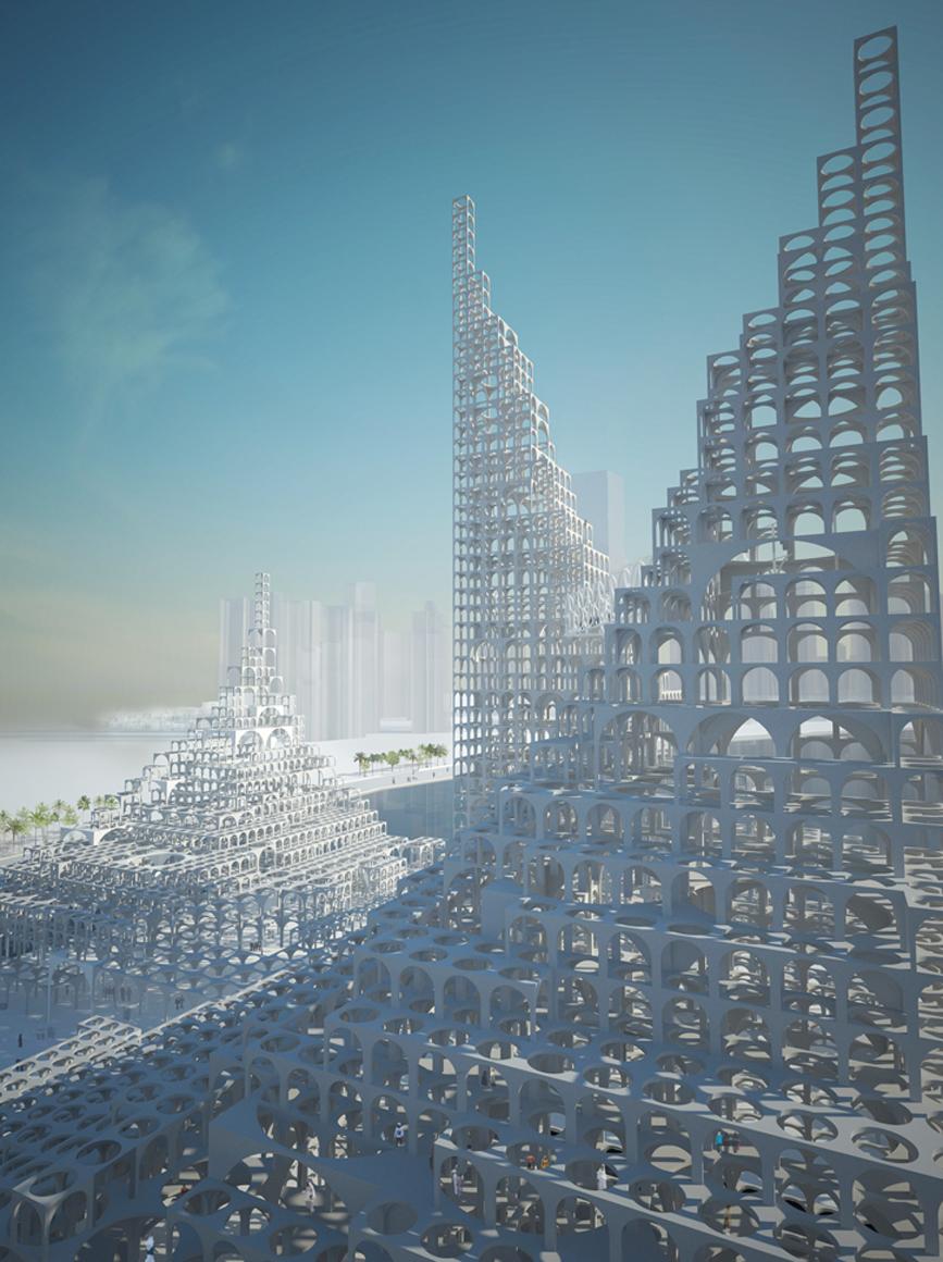 Sou Fujimoto Architects   Souk Mirage