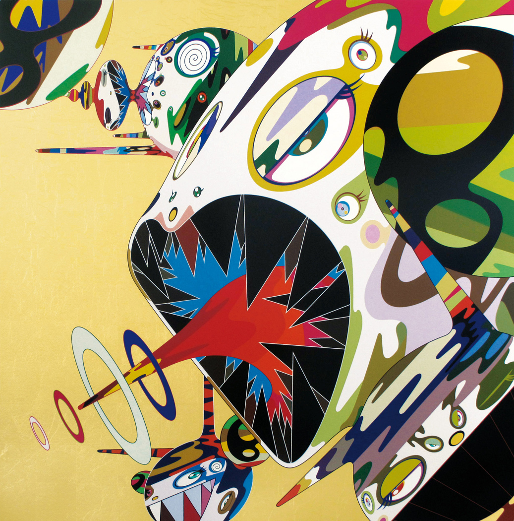 Takashi Murakami   Homage to Francis Bacon