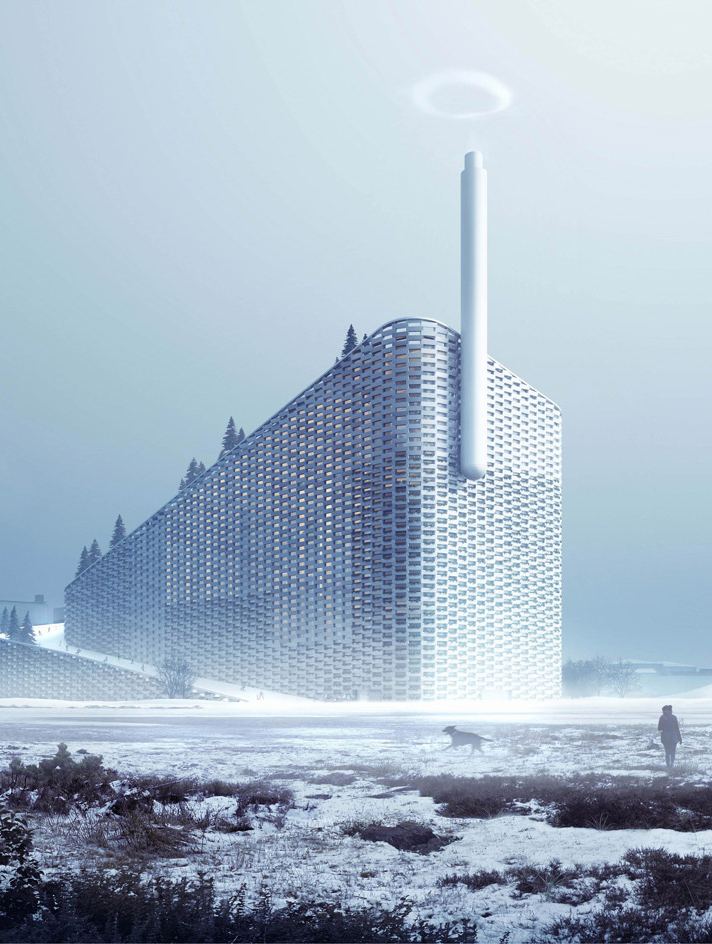 Bjarke Ingels Group  Steam Ring Generator