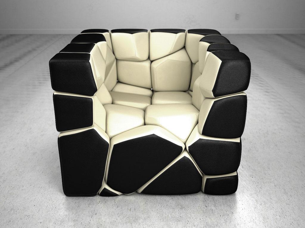 CHRISTOPHER DANIEL  Vuzzle Chair