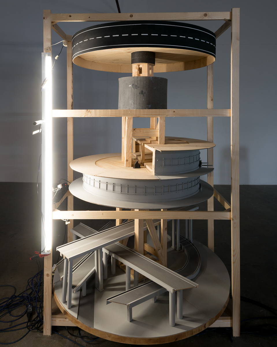 Exhibition by Maurice Bogaert, in De Service Garage, Amsterdam, January 2014