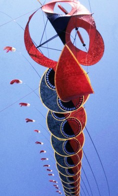 Tom Van Sant   ladder kite