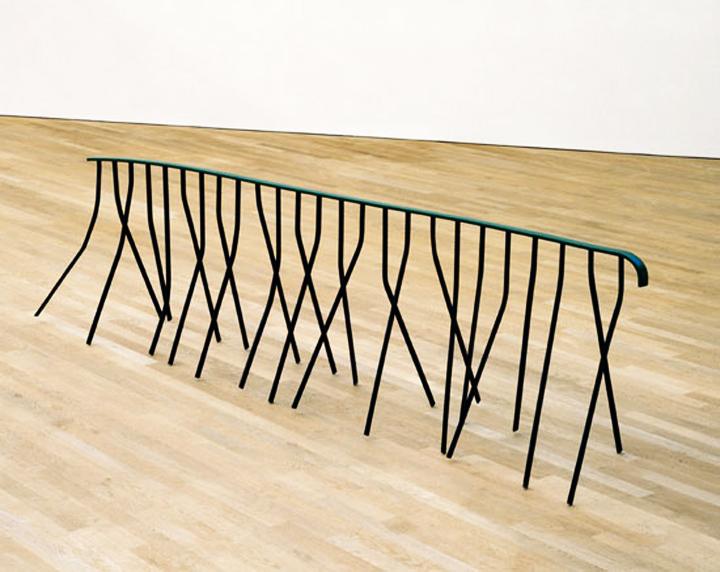 monika sosnowska    handrail