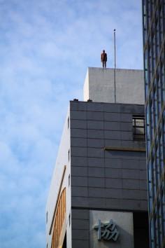 Antony Gormley Event Horizon